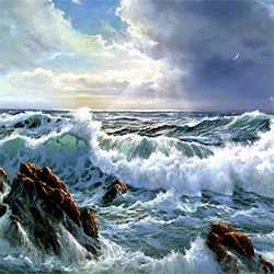 Peter Cosslett Art