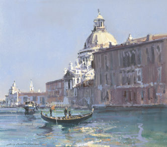 Bright Day on the Grand Canal
