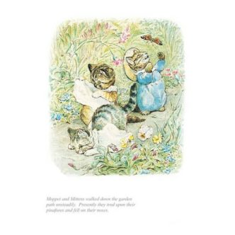 Moppet & Mittens by Beatrix Potter Limited Edition Print