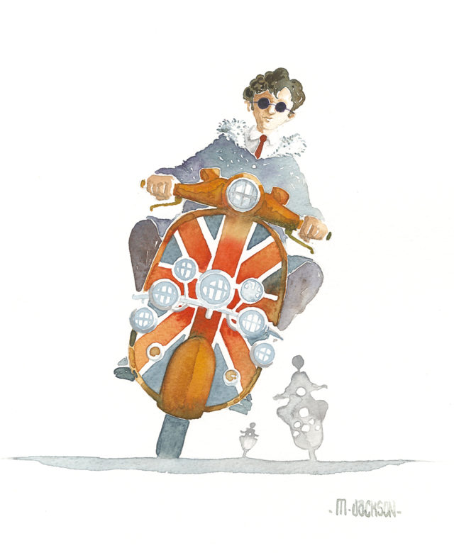 Just Jack - Mod riding scooter
