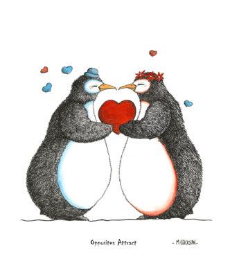 Opposites Attract - Penguins