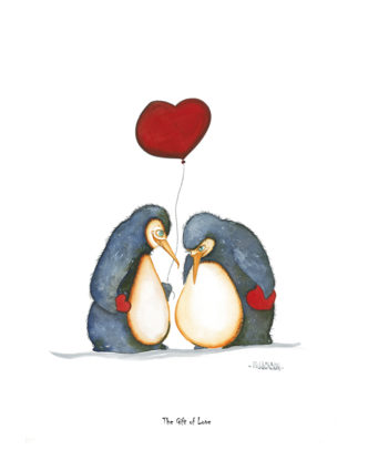 The Gift of Love - Penguins