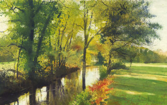 The Quiet of Autumn by Richard Thorn