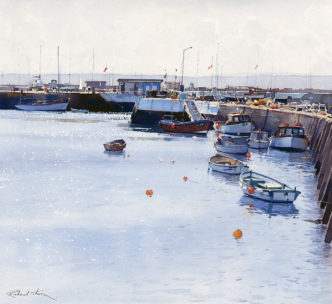 Torquay Harbour by Richard Thorn