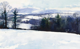 White Vista by Richard Thorn