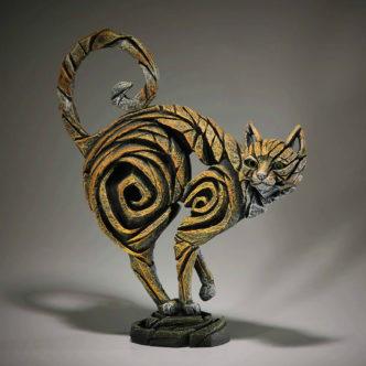 Ginger Cat Sculpture by Matt Buckley Edge Sculpture