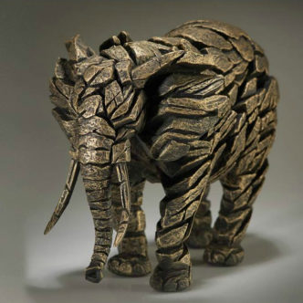 Elephant Gold by Matt Buckley Edge Sculpture