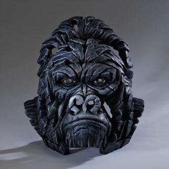 Gorilla Bust Sculpture by Matt Buckley Edge Sculpture