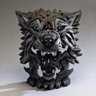 Edge Sculpture Wolf Bust Sculpture by Matt Buckley, Edge, Robert Harrop Designs.