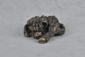 Frith bronz resin Bull Calf