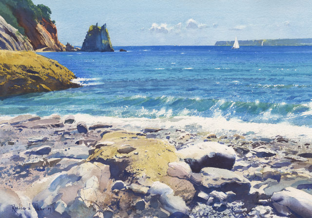 Beacon Cove Surf by Richard Thorn