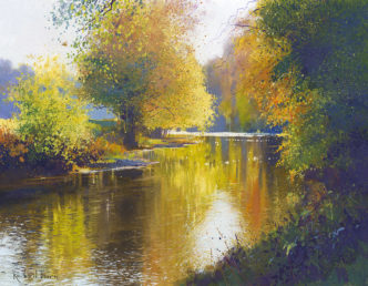River Peace by Richard Thorn