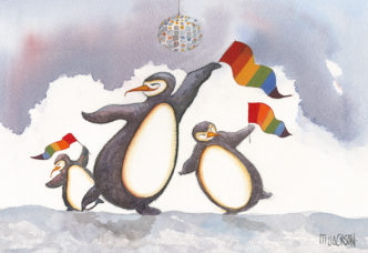 Saturday Night Diva - Penguins