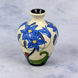 Moorcroft Pottery Fly Away Home Vase Flyaway