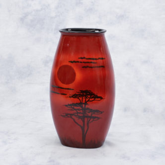 African Sky Manhatton Vase by Pool Pottery