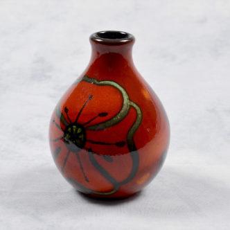 Poppyfield Bud Vase by Pool Pottery