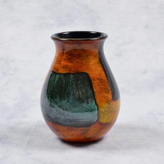 Gemstone Venetian Vase 16cm by Pool Pottery