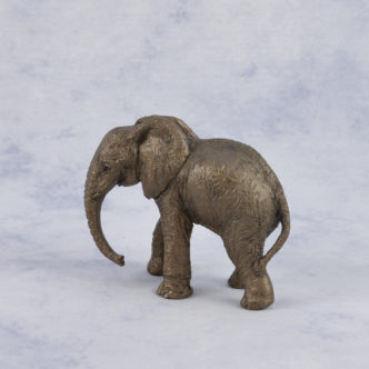 Baby Elephant Calf (JC002) by Frith Sculpture