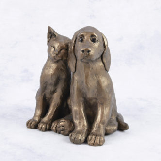Jack & Millie (S193) by Frith Sculpture