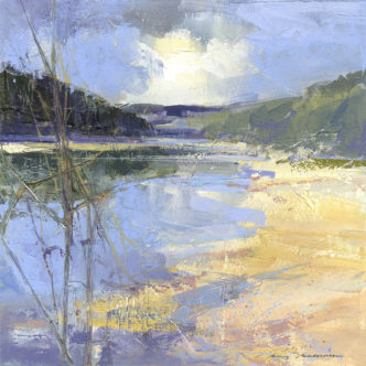 Reflections, Wonwell Beach by Ray Balkwill