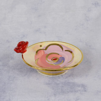 Canape Dish (Pink) by Mary Rose Young