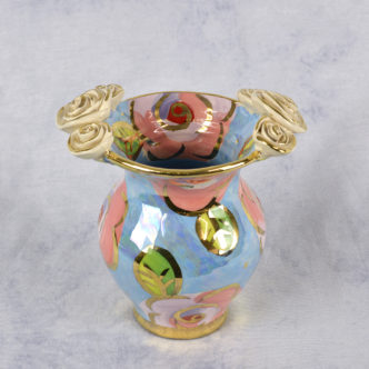 Posy Vase (Blue) by Mary Rose Young
