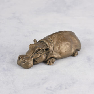 Herbert the Hippo HD109 by Frith Sculpture