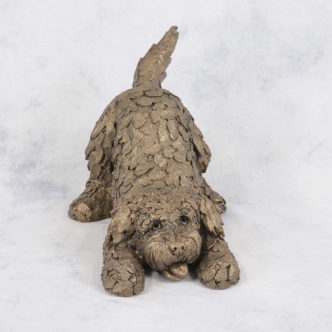 Barney Cockapoo (AT038) by Frith Sculpture