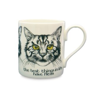 The Best Thing In Life Mug by Simon Drew