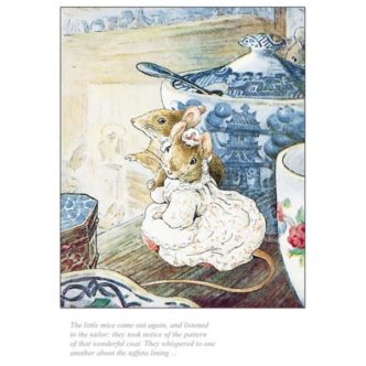 Beatrix Potter The Little Mice Came Out Again Limited Edition