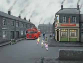 False Alarm! (Canvas) by Leigh Lambert