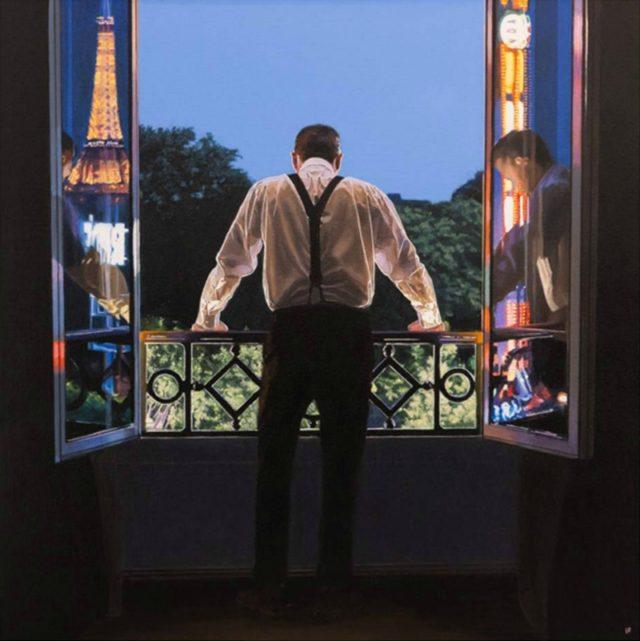 Paris 7.48pm Limited edition print by Iain Faulkner