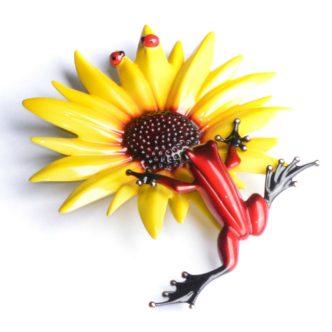 *NEW* Sunflower (Artist Proof) by Tim Cotterill Frogman Haddon Galleries Torquay