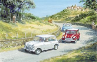 Study of Italian Job Lives II by Tony Smith Mini Art