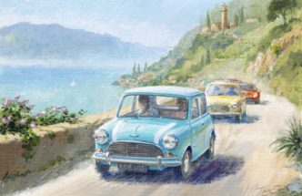 Study of Italian Job Lives IV by Tony Smith Mini Art