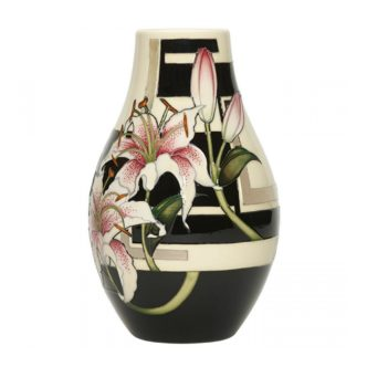 Stargazer Lily Vase (Limited Edition) by Moorcroft Pottery Sweet Peas