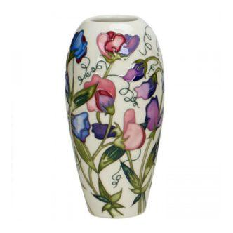 Sweetness Vase 101/7 by Moorcroft Pottery Sweet Peas