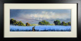 Blue Haze (Original) by Allan Morgan