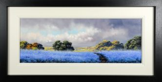 Cornflower Blue (Original) by Allan Morgan