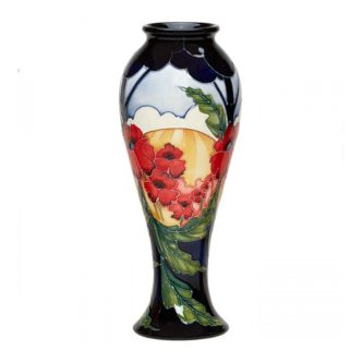 Forever England Vase 75/10 by Moorcroft Pottery