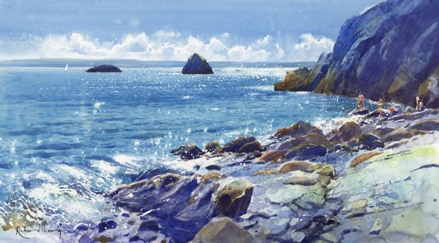 My Blue Heaven Signed Limited Edition Print by Richard Thorn