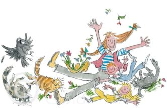 She Isn't Quite Like Other Folk by Quentin Blake