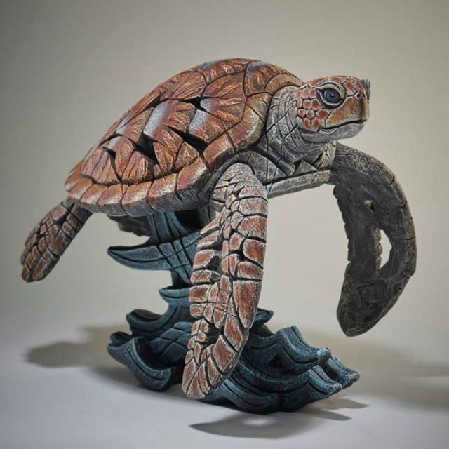 Sea Turtle Matt Buckley Edge Sculpture