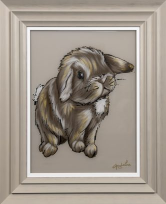 Cotton Tail by Amy Louise Bunny Art Rabbit