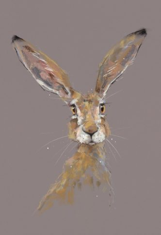 All Ears by Nicky Litchfield Hare Print