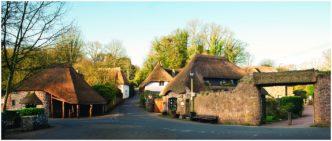 Almost Spring (Cockington Village Torquay) Framed Print