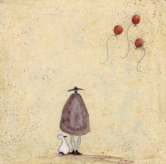 Letting Go Signed Limited Edition Print by Sam Toft