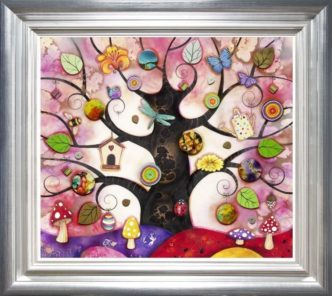 Tree of Charms Pink by Kerry Darlington