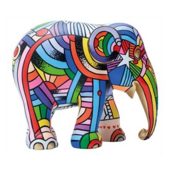 Peace, Love & Music Elephant Parade