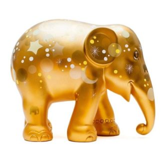 Sparkling Celebration Gold Elephant Parade